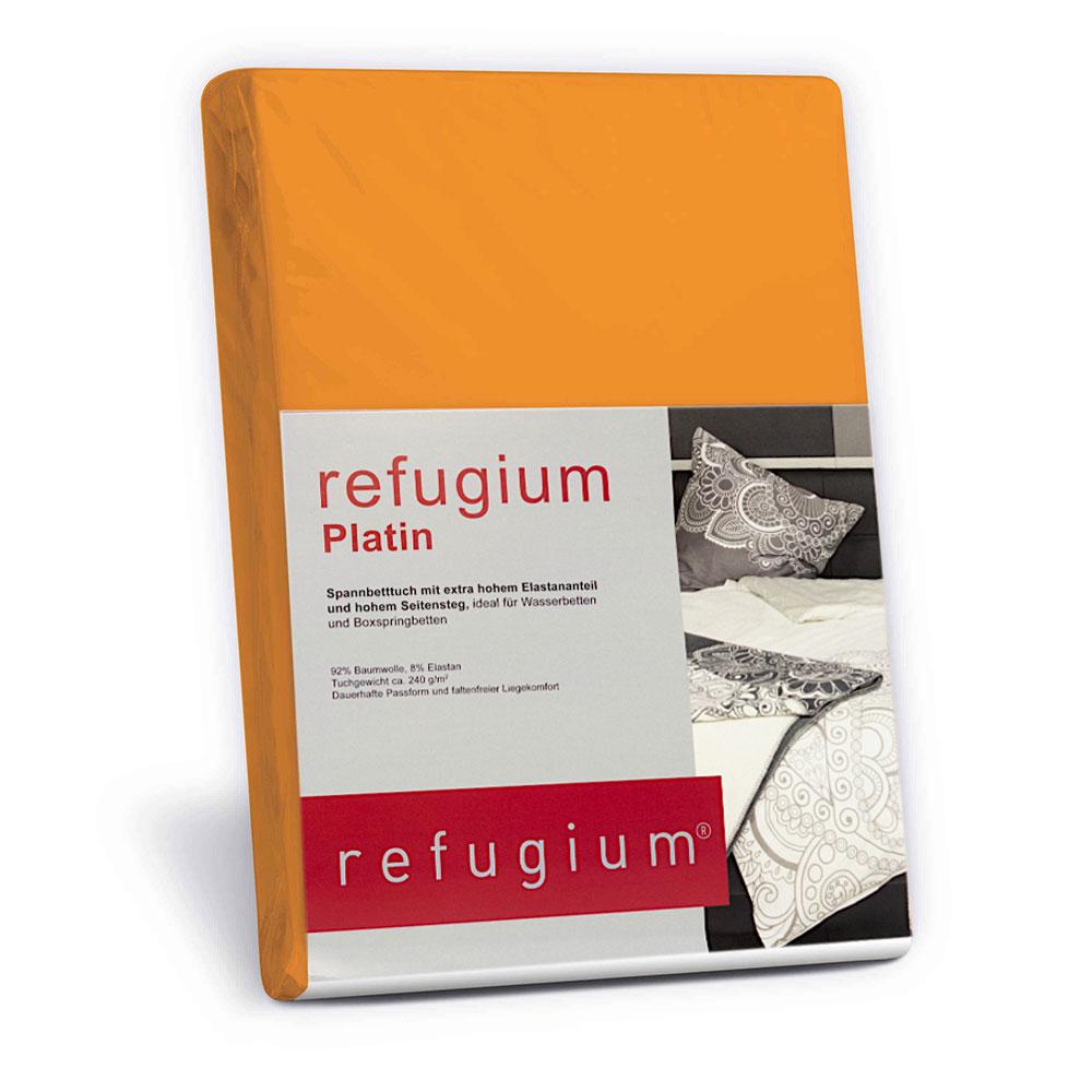 refugium® Platin Spannbettuch